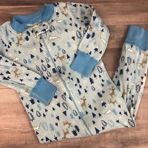 Size 80 HANNA ANDERSSON blue print sleeper